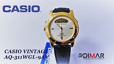 VINTAGE CASIO AQ311WGL-9AV QW.364 JAPAN WR.50 AÑO 1992 Ø.45mm