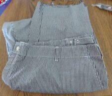 Mens Pst Black Amp White Checker Chef Line Cook Pants Sz 48 50 Xxl 2xl