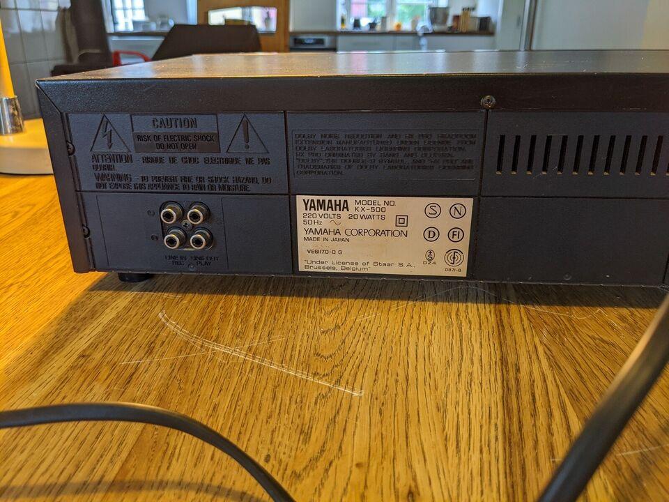 Båndoptager, Yamaha, Kx 500