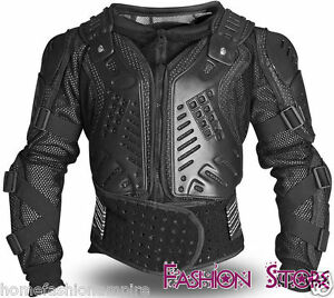 Motorcycle-Black-Brand-New-Protector-Body-Armour-Back-Spine-Protection-Protector