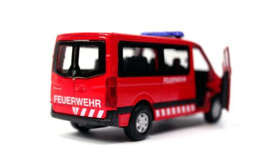 WELLY Mercedes-Benz MB Sprinter Traveliner Feuerwehr Modellauto 1:34 DIE-CAST