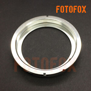 Haoge Manual Lens Mount Adapter for M42 42mm Screw Mount Lens to ...
