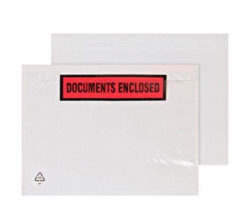 A7 A6 A5 A4 DL Documentos Adjuntos Sobres Billeteras llanura de alta calidad impreso