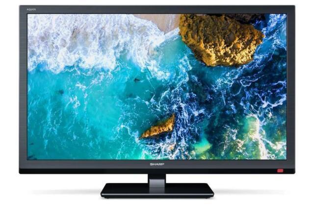 "(Open Box) Sharp 24BE0K 24"" HD Ready Smart Black TV/DVD Combi HD Ready"