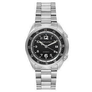 Hamilton-Khaki-Aviation-Pilot-Pioneer-Auto-Men-039-s-Watch-H76455133