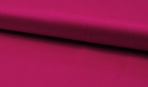 14.00 EUR//mètre fines en coton stretch satin tissu Dunkelpink