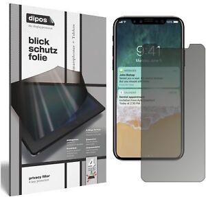 Apple-iPhone-X-Protection-ecran-de-Confidentialite-Protecteur-Anti-Espion-dipos