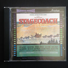 Rare! Jerry Goldsmith STAGECOACH Film Soundtrack OST CD 1991 Trouble With Angels