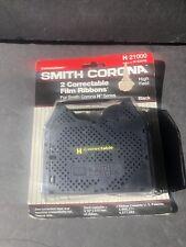 Genuine Oem Smith Corona H Series 21000 Correctable Typewriter Ribbon 2 Pack