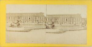 Francia Parigi Château Da Versailles, Foto Stereo Vintage Albumina Ca 1870