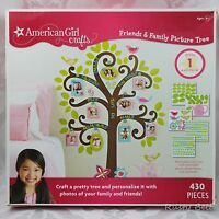 American Girl Crafts Friends & Family Picture Tree 430 Pieces