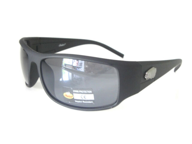 Indian Sunglasses Men Wraparound Black Orange Plastic Frames Motorcycle Driving