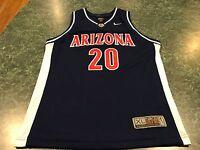 NIKE ELITE Arizona Wildcats #20 Damon Stoudamire YOUTH Blank Jersey Size XL