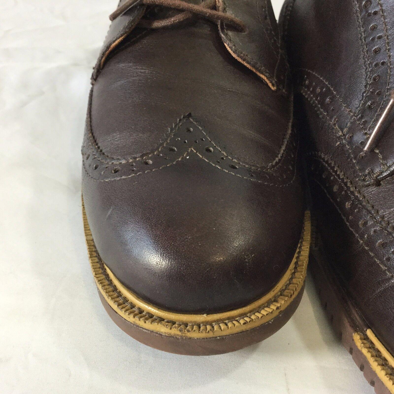 Cole Haan Great Great Great Jones schuhe Größe 10 M Oxford Wingtip braun Lace Up C22004 a7303f