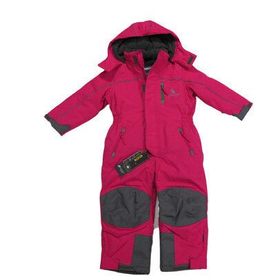 Outburst Skibekleidung Overall Schneeanzug Pink Mädchen Wasserdicht Gr.74-128
