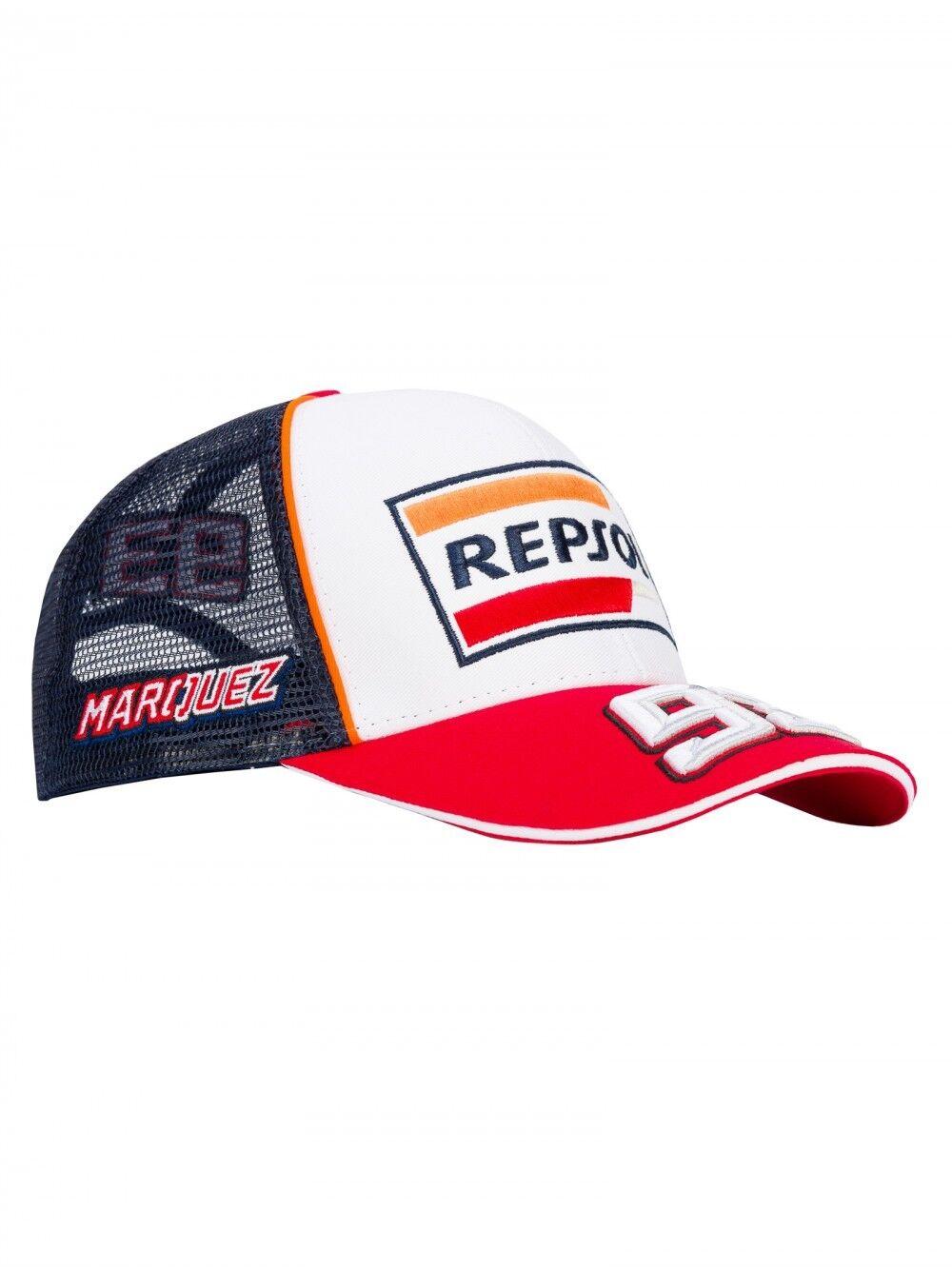 2018 Official Marc Marquez 93 Repsol Gorra de Camioblack - 18 48502