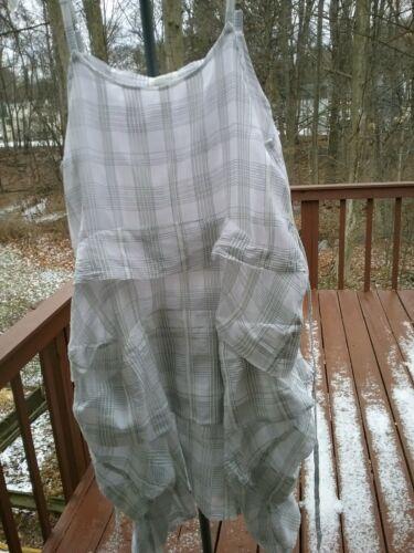 Krista Larson umbrella silk cotton slip dress