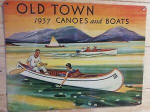 Vintage-old-town-canoes-and-boats-advertisement-reproduction-metal-sign