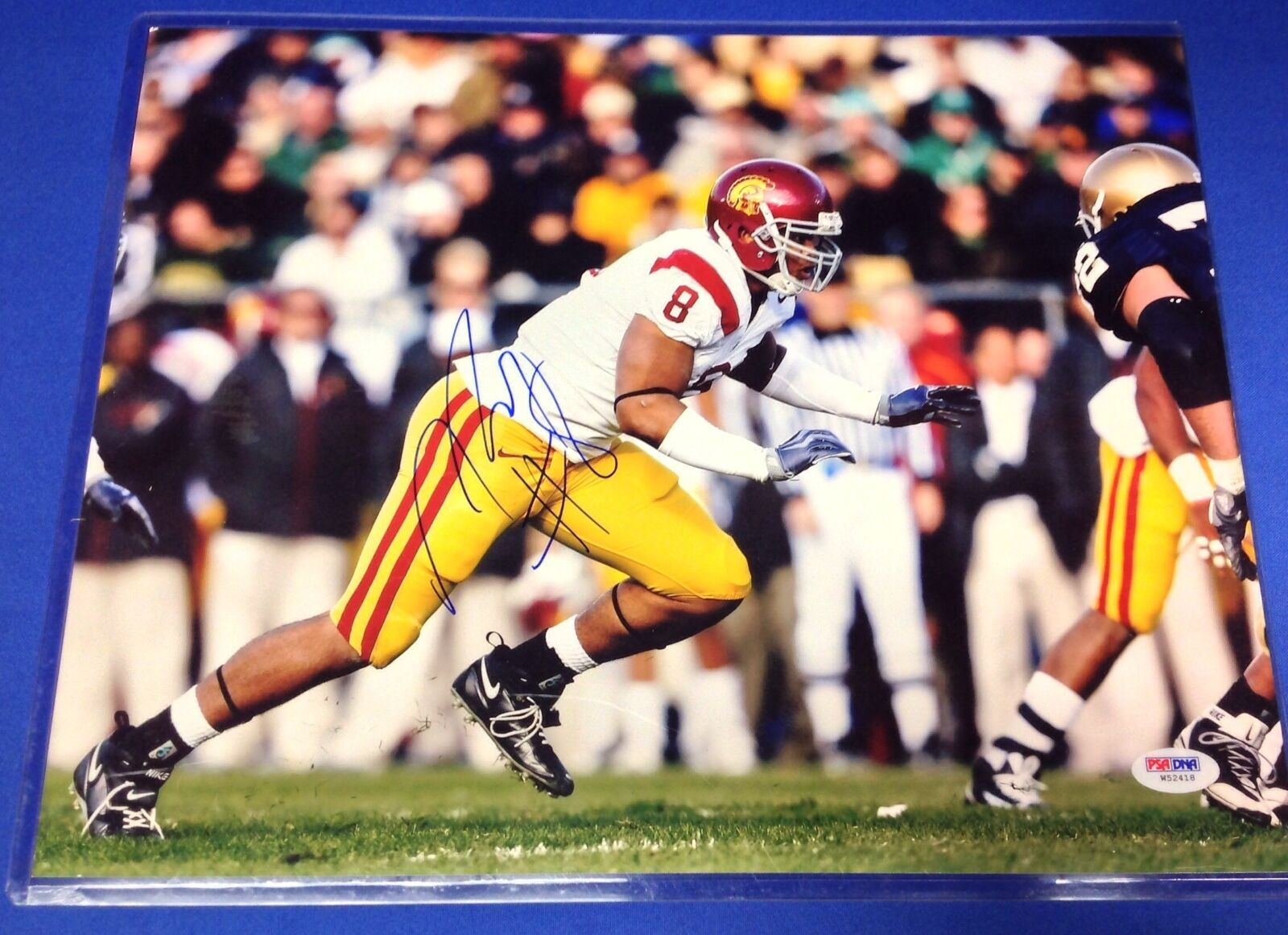 Nick Perry USC Trojans Signed 11x14 Photo PSA/DNA #W52418