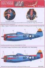 Kits World Decals 1/48 P-47D THUNDERBOLT 395th Fighter Squadron