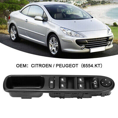 Fit For Peugeot 307cc 307sw 3e Driver Side Master Window Switch Console Uk 2020 Ebay