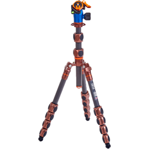 3 Legged Thing Pro 2.0 Leo Carbon Fibre Tripod With AirHed Pro Lever Kit Bronze