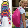 Liberty Bags - Back to School Large Drawstring Backpack Cinch Sack  - 8882 17x20