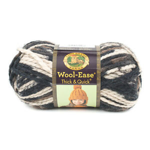 LIONBRAND-WOOL-EASE-THICK-amp-QUICK-Various-Colours