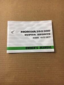 Honda cb77 300 (1961-1967) workshop manual.