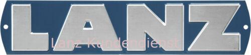 LANZ Bulldog Schild blau zum D5006 D5016 D6006 D6016 Traktor