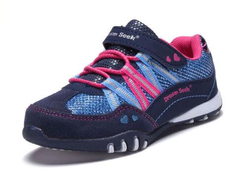 Neuf Pour Bébé Filles Chaussures De Tennis Paillettes Enfants Baskets À Enfiler Bride