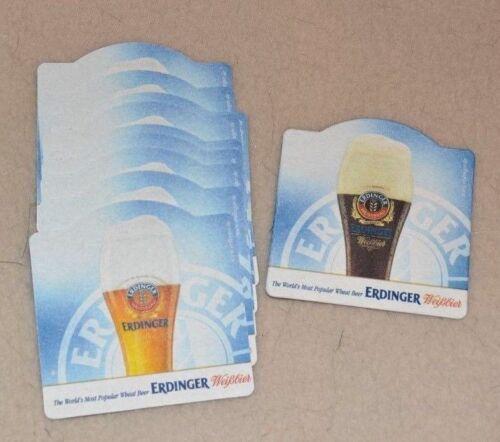10 Erdinger Weissbier Beer Mats  *NEW*