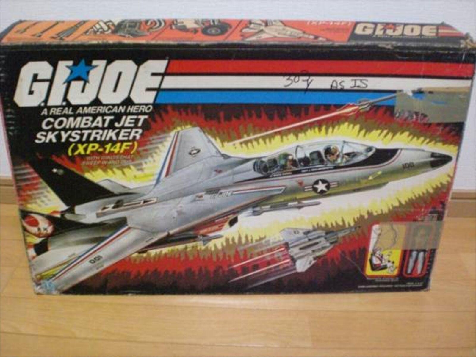 Vintage Takara G.I. Joe COMBAT JET SKYSTRIKER  (XP-14F) from Japan F S  offrant 100%