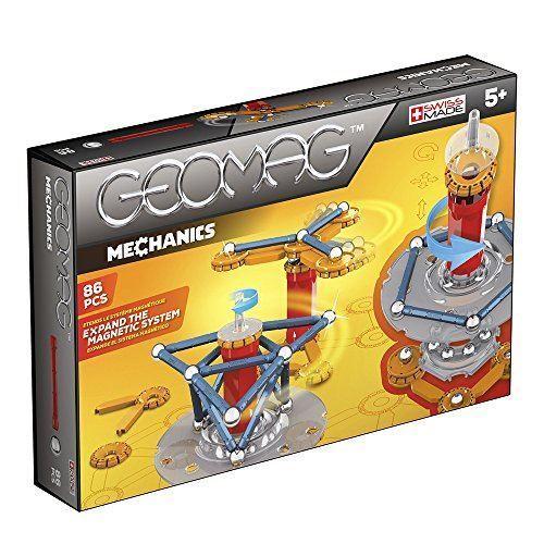 Niños construcción mecánica Magnético Geomag 721 Set 86 piezas Conjunto de Juego Regalo