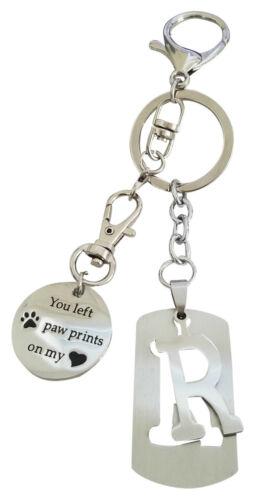 AM Landen super mignon lettre R Porte-clés meilleur cadeau Keychain à votre amour