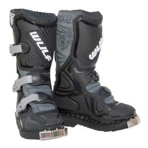 Details zu Wulfsport Super Boot LA Kinder Stiefel Motocross Offroad Quad Schuhe 37 schwarz
