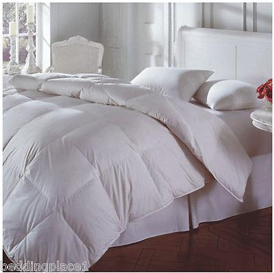 13.5 TOG Luxury Duck Feather & Down Duvet / Quilt OR Pillows All Size & Tog