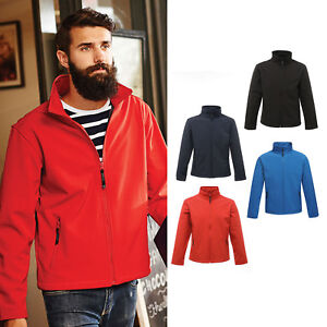 Regatta-Classics-3-couches-Softshell-Veste-TRA681-Homme-Impermeable-Adulte-chaud-manteau