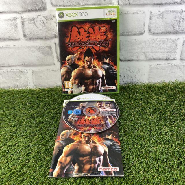 Tekken 6 Xbox 360 Kämpfe Videospiel HANDBUCH PAL