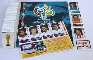 Panini-World-Cup-2006-Germany-set-of-597-stickers-updates-empty-album-NEW