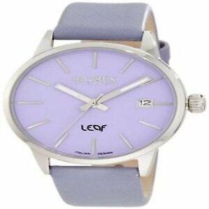 Haurex-Italy-Womens-6A363DL1-Leaf-Lilac-Dial-Luminous-Hands-Date-Watch