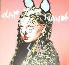 Sia: Clap Your Hands PROMO w/ Artwork MUSIC AUDIO CD Main Mix Edit Instrumental