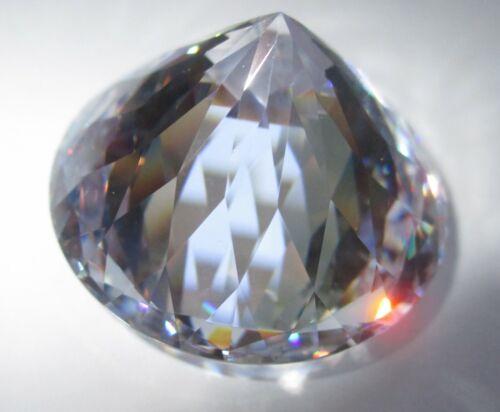 rund klar 1,75 mm Facettenschliff 50 Cubic Zirkonia synthetischer Edelstein CZ