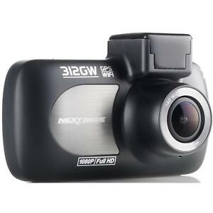 "Nextbase 312GW Dash Cam 2.7"" LED Car Recorder Angle Lens Night Vision GPS Wi-Fi"