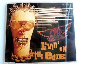 Aerosmith-Livin-039-On-The-Edge-CD-Maxi-Single-1993-Brand-New-Sealed