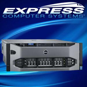 Dell PowerEdge R930 4x E7-8880v4 2.2GHz 22C 3072GB RAM 24x 7.68TB SAS SSDs H730p