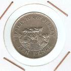 Jersey : 10 Pence 1992 ( buen ejemplar )