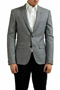 Versace-Tailor-Made-100-Wool-Multi-Color-Two-Button-Men-039-s-Blazer-US-38-IT-48