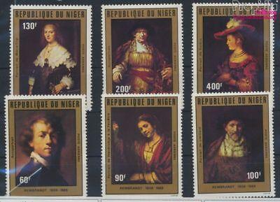 kompl.ausg. Postfrisch 1981 Rembrandt Straightforward Niger 730-735 9278430 Refreshing And Enriching The Saliva