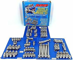 ARP 554-9801 Engine and Accessory Fasteners Black Oxide Hex Ford Small Block Kit